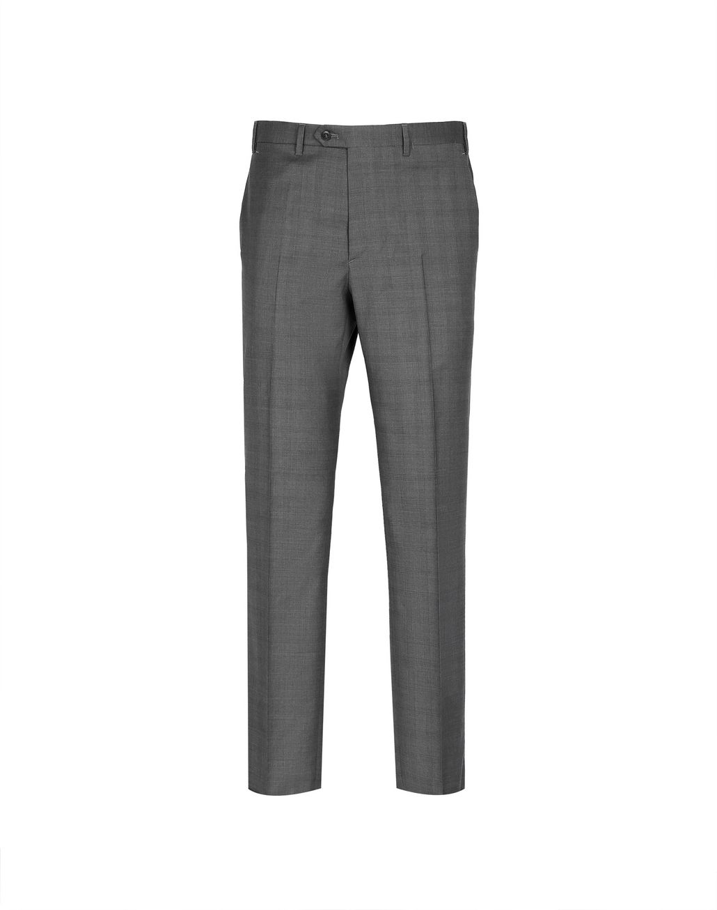BRIONI Graphite Tigullio Check Pants Trousers Man f