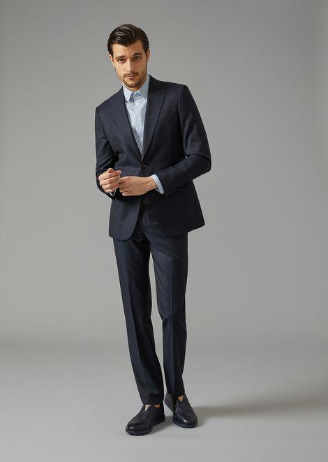 Virgin Wool Soho Suit