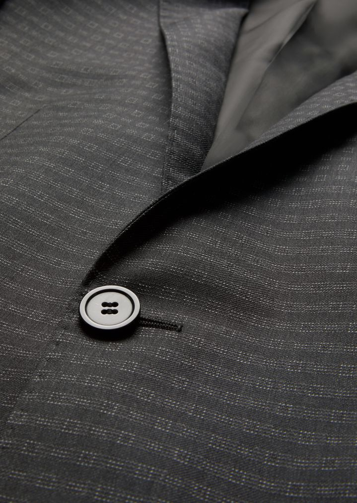 eb7328bd SLIM FIT SUIT IN MOHAIR AND VIRGIN WOOL | Man | Emporio Armani