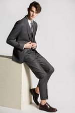 DSQUARED2 Classic Pin Stripe London Suit Costume Homme