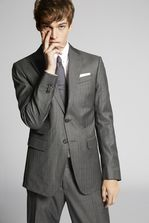 DSQUARED2 Dark Prince Of Wales Roma Suit Costume Homme