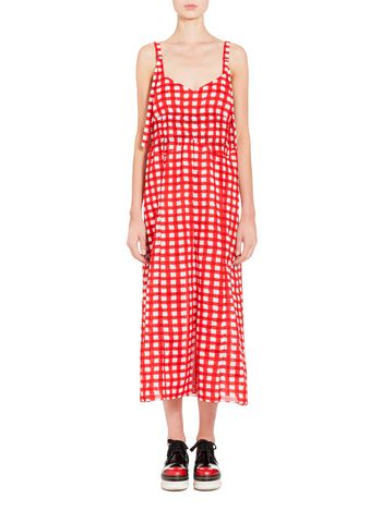 Marni Dress in voile with Ingrid print Woman