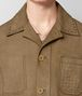 BOTTEGA VENETA DARK CAMEL SUEDE JACKET Outerwear and Jacket Man ap