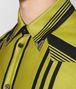 dark chamomile nero cotton shirt Front Detail Portrait
