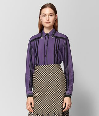 DARK LILAC NERO COTTON SHIRT