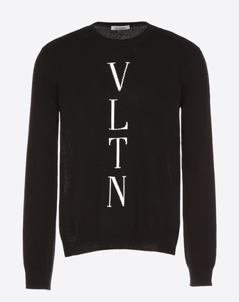 VALENTINO Knit top U VLTN inlay sweater f