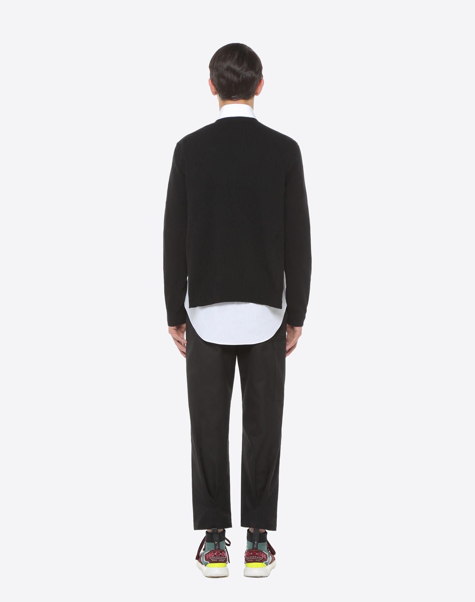 VALENTINO VLTN inlay sweater Knit top U e