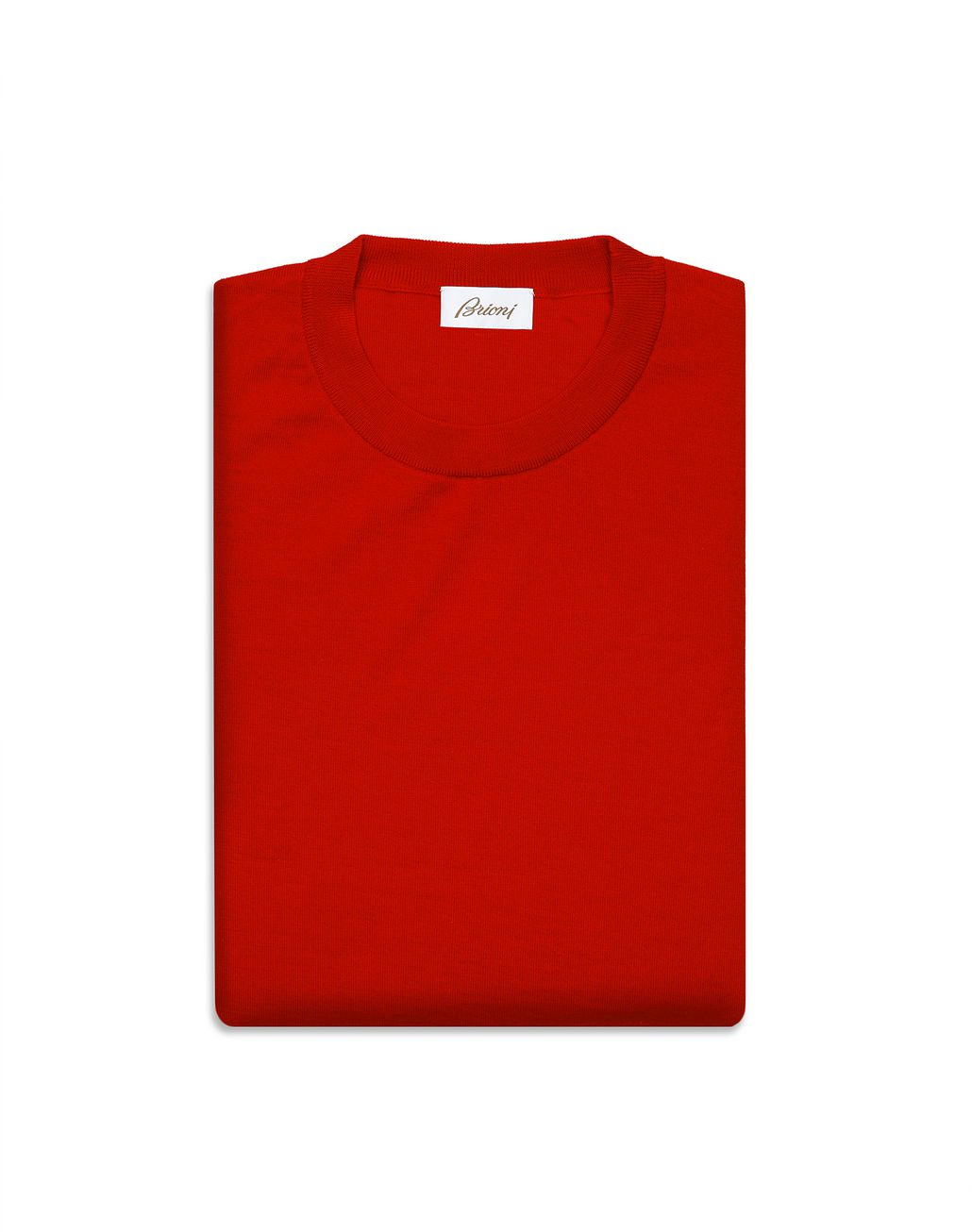 BRIONI Limited Edition Red Cashmere Sweater Knitwear Man e