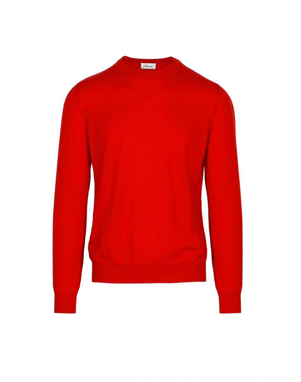 BRIONI Limited Edition Red Cashmere Sweater Knitwear Man f