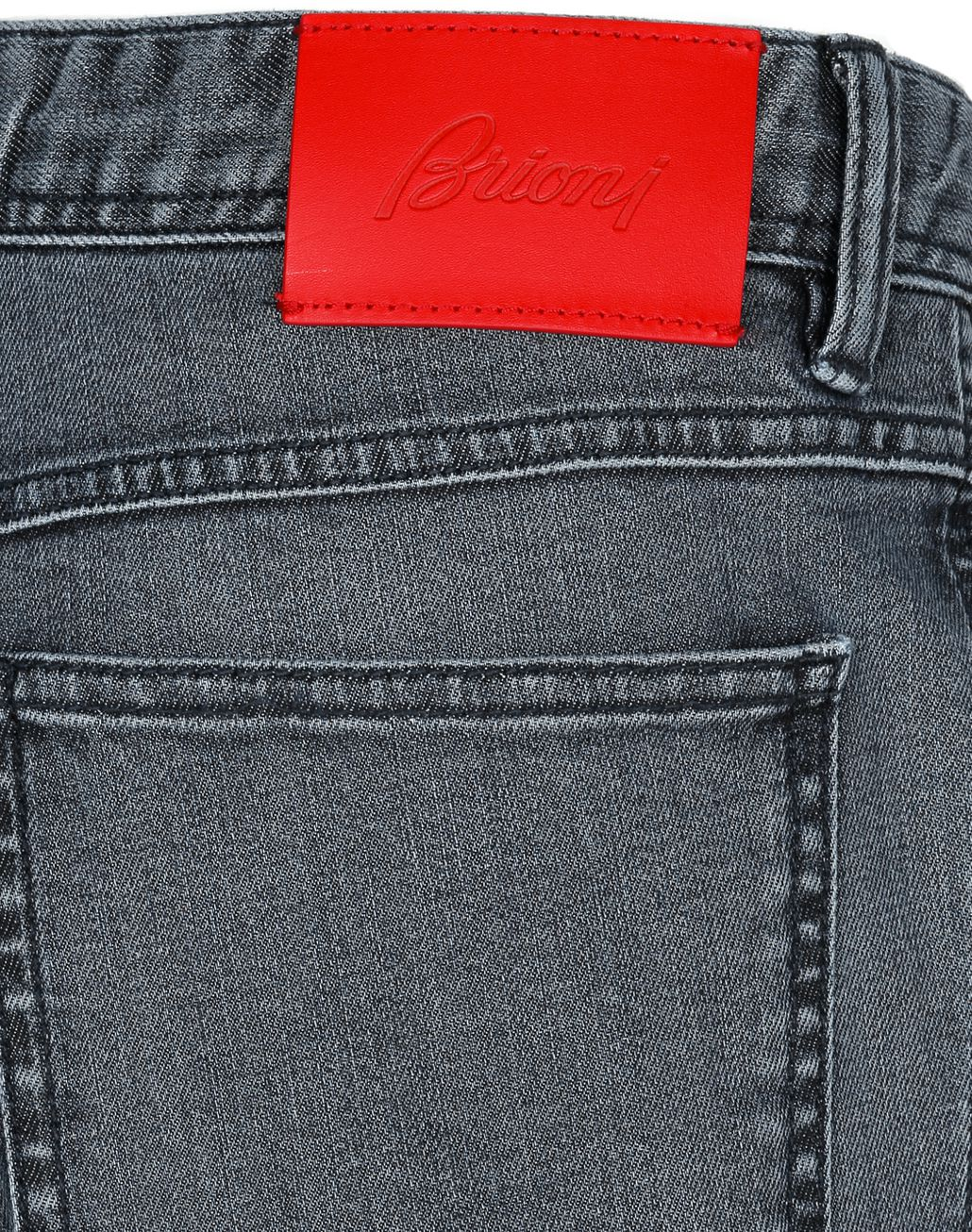 BRIONI Limited Edition Navy Blue Comfort Fit Chamonix Jeans Denim Man e
