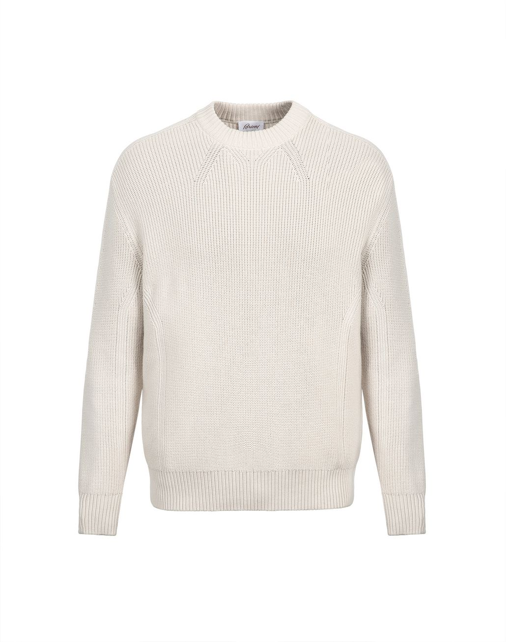 BRIONI Ivory Oversized Fit Sweater Knitwear Man f