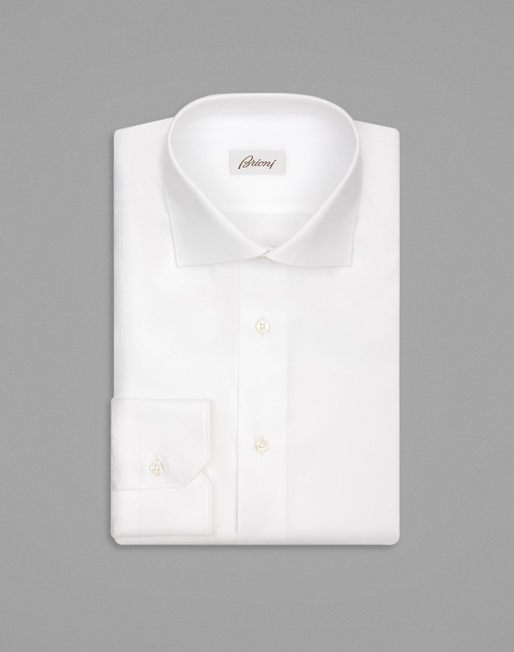 BRIONI White Formal Shirt Formal shirt [*** pickupInStoreShippingNotGuaranteed_info ***] f