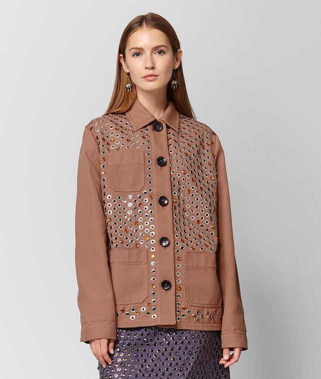BOTTEGA VENETA DAHLIA COTTON JACKET Outerwear and Jacket Woman fp