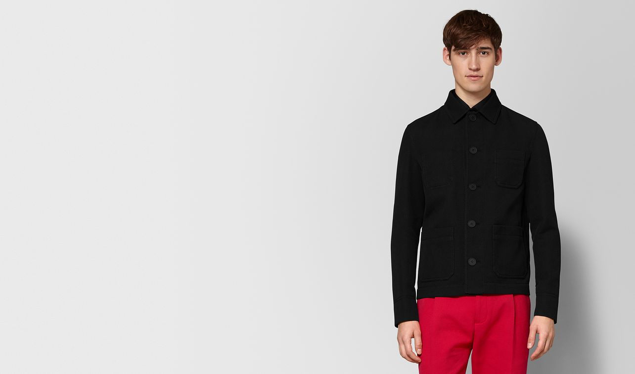 nero cotton jacket landing