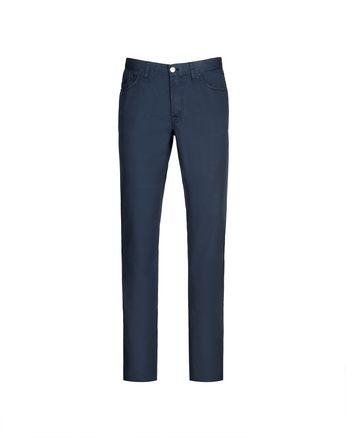 Navy Blue Chamonix Five Pockets Trousers
