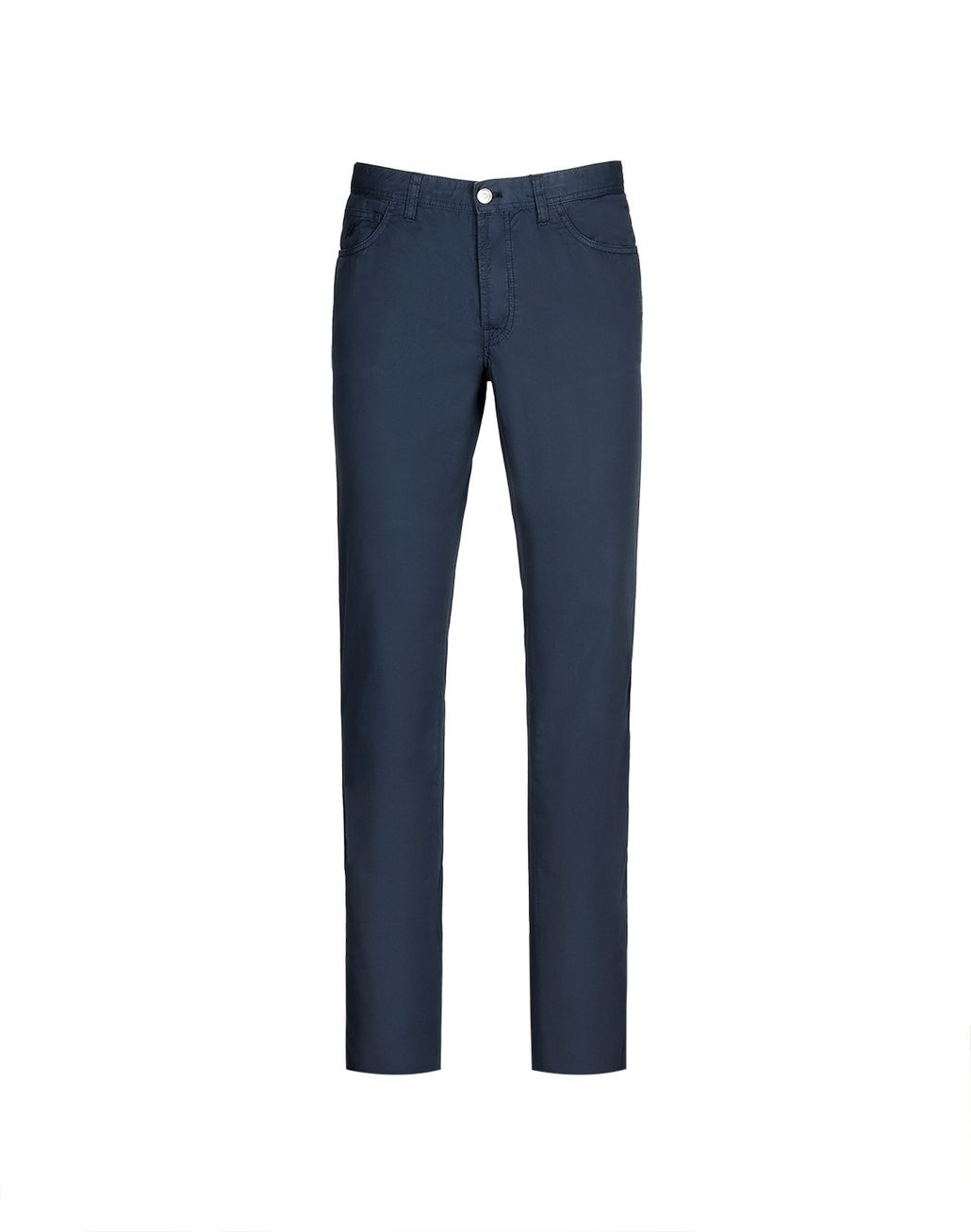 BRIONI Navy Blue Chamonix Five Pockets Trousers Trousers Man f