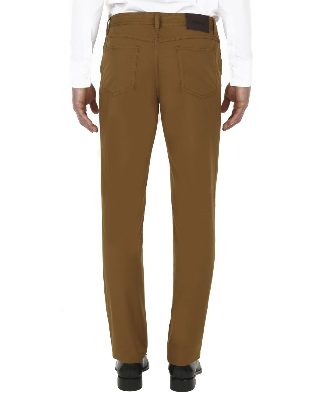 BRIONI Mustard Chamonix Five-Pocket Pants  Trousers Man d