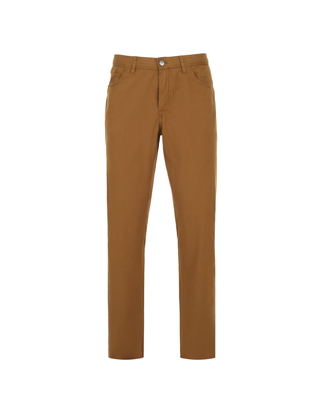 BRIONI Mustard Chamonix Five Pockets Trousers  Trousers Man f