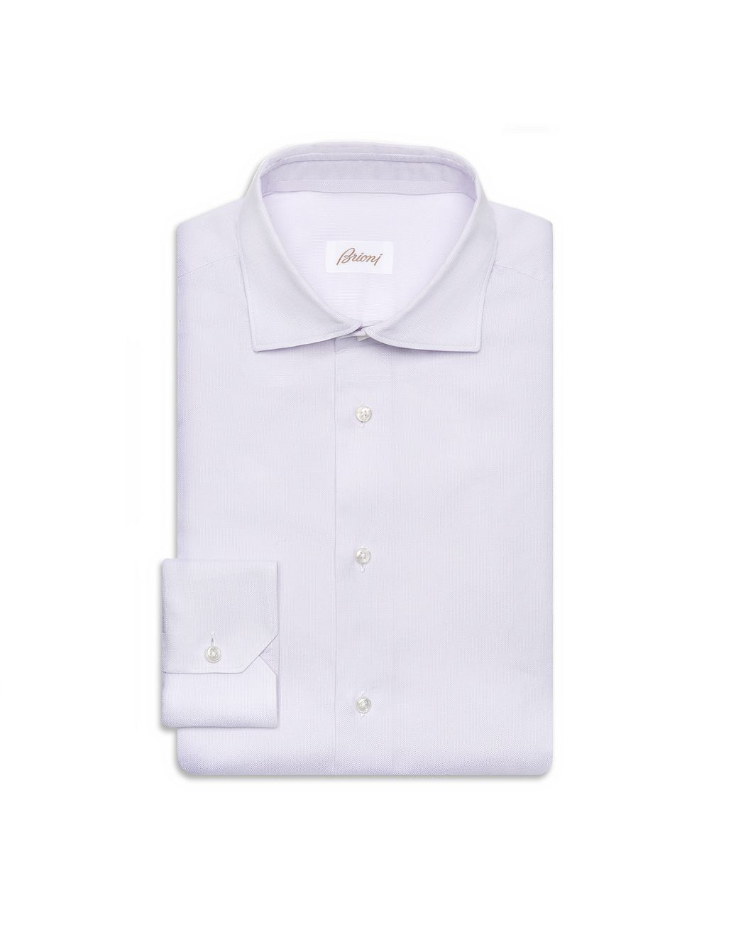 BRIONI Lilac Hopsack Formal Shirt  Formal shirt [*** pickupInStoreShippingNotGuaranteed_info ***] f