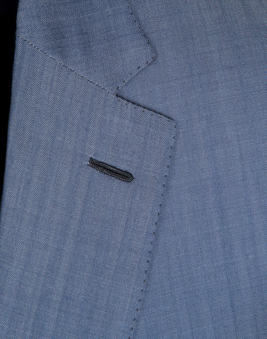 BRIONI Light Blue Micro-Herringbone Ravello Suit   Suits & Jackets [*** pickupInStoreShippingNotGuaranteed_info ***] a