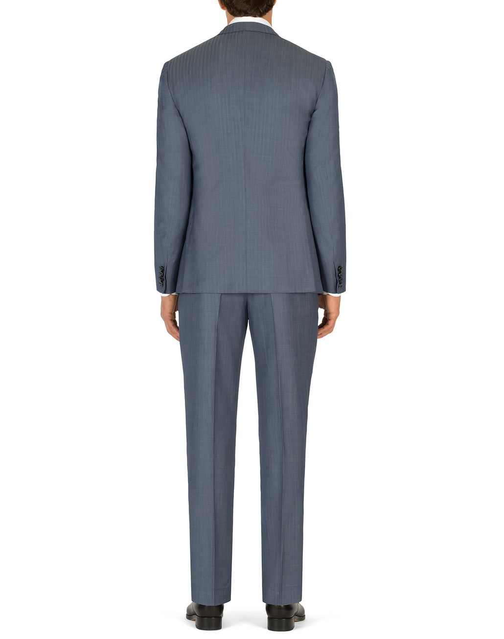 BRIONI Light Blue Micro-Herringbone Ravello Suit   Suits & Jackets Man d