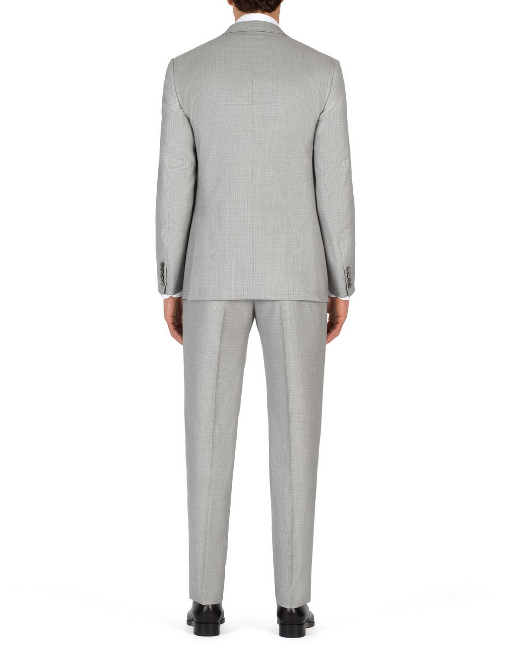 BRIONI White and Gray Micro Houndstooth Brunico Suit  Suits & Jackets Man d