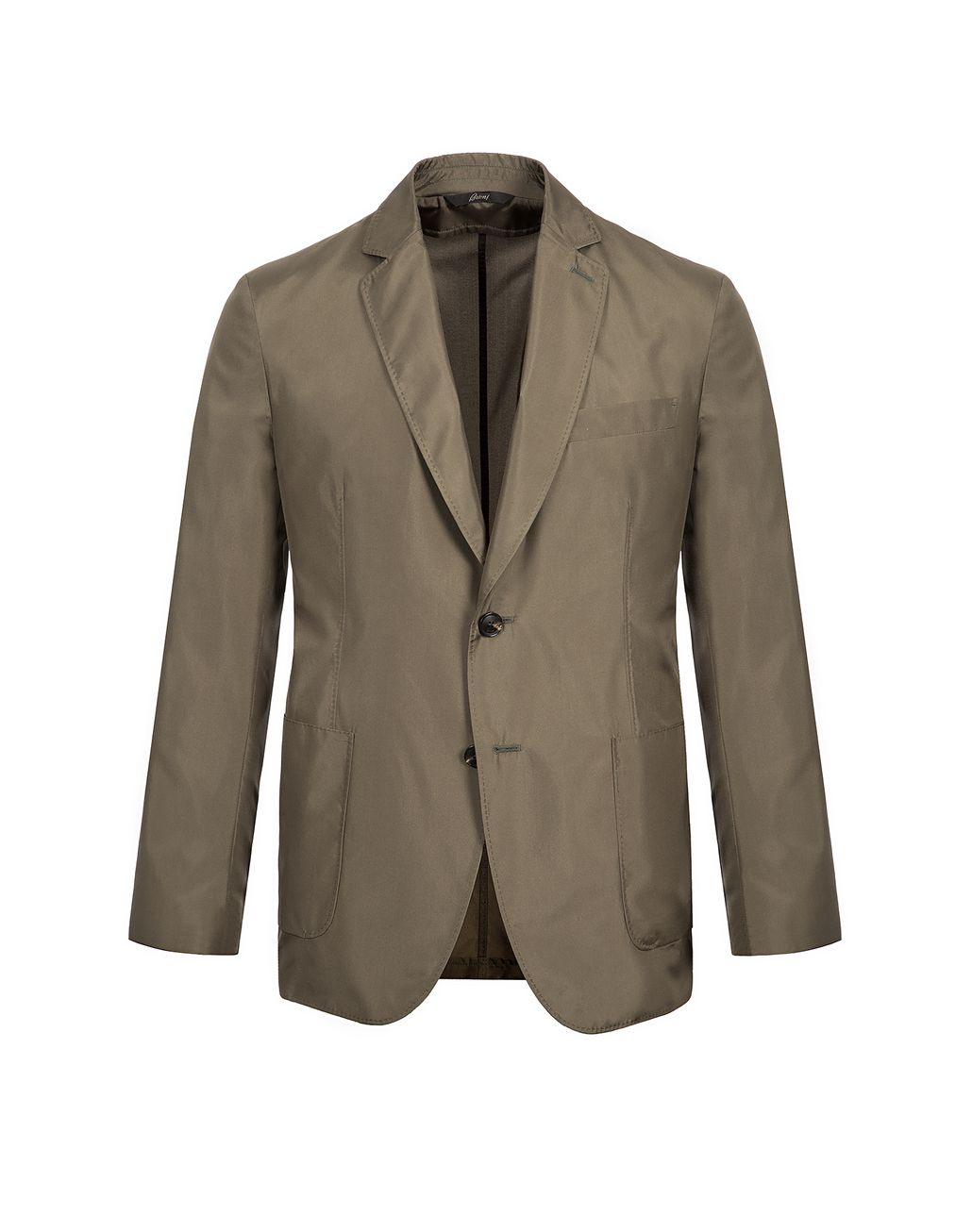 BRIONI Thyme Green Light Jacket   Outerwear Man f