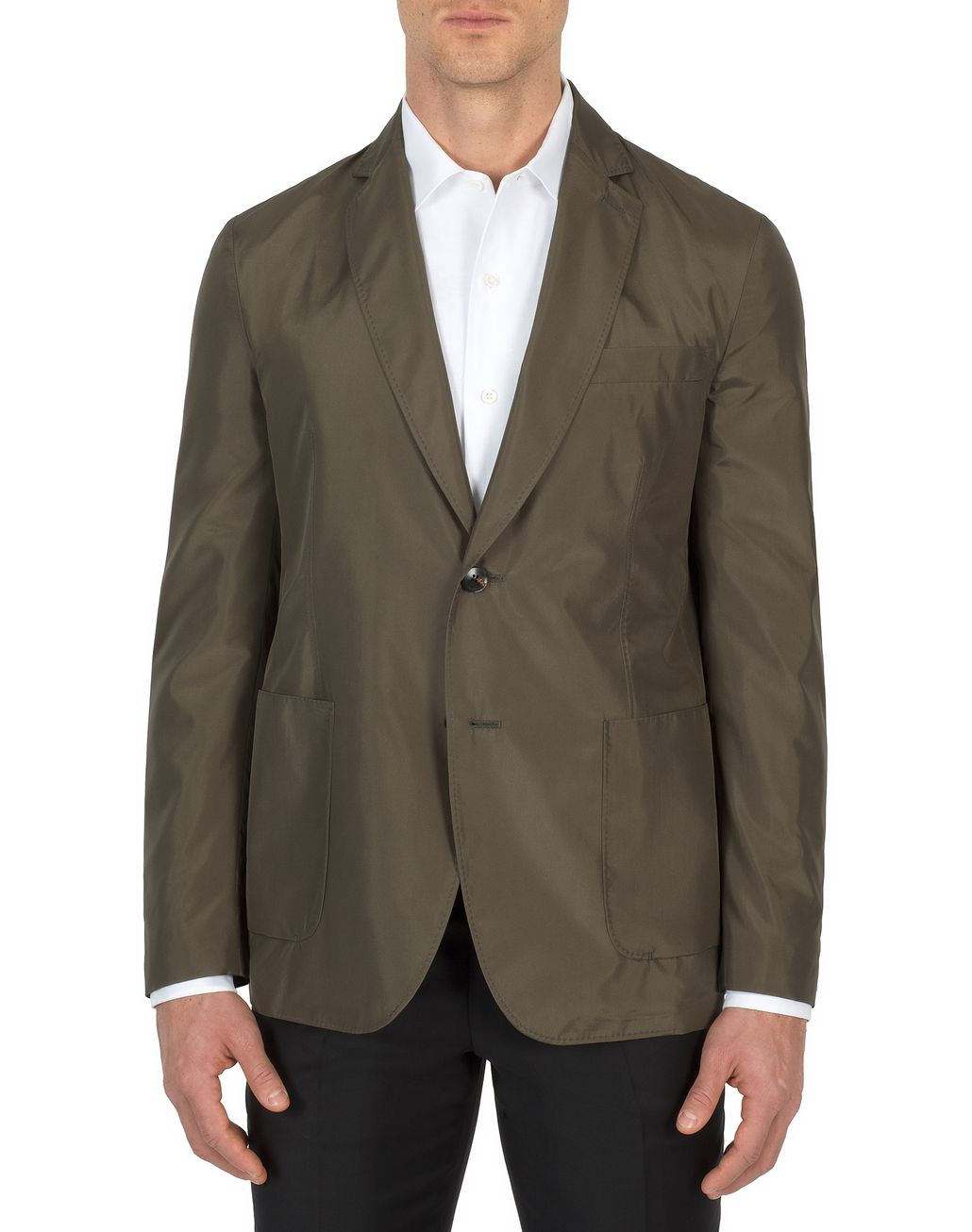 BRIONI Thyme Green Light Jacket   Outerwear Man r