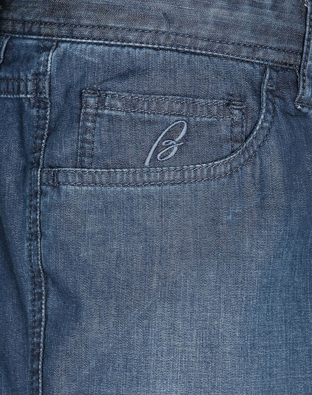 BRIONI Navy-Blue Comfort-Fit Chamonix Jeans  Denim Man e