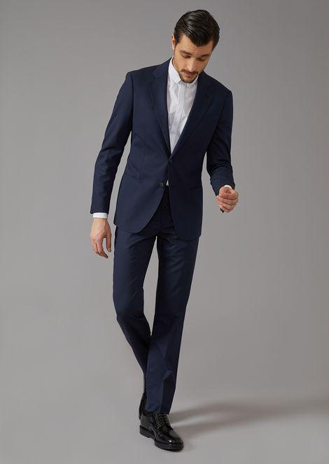 Striped canvas Soho suit