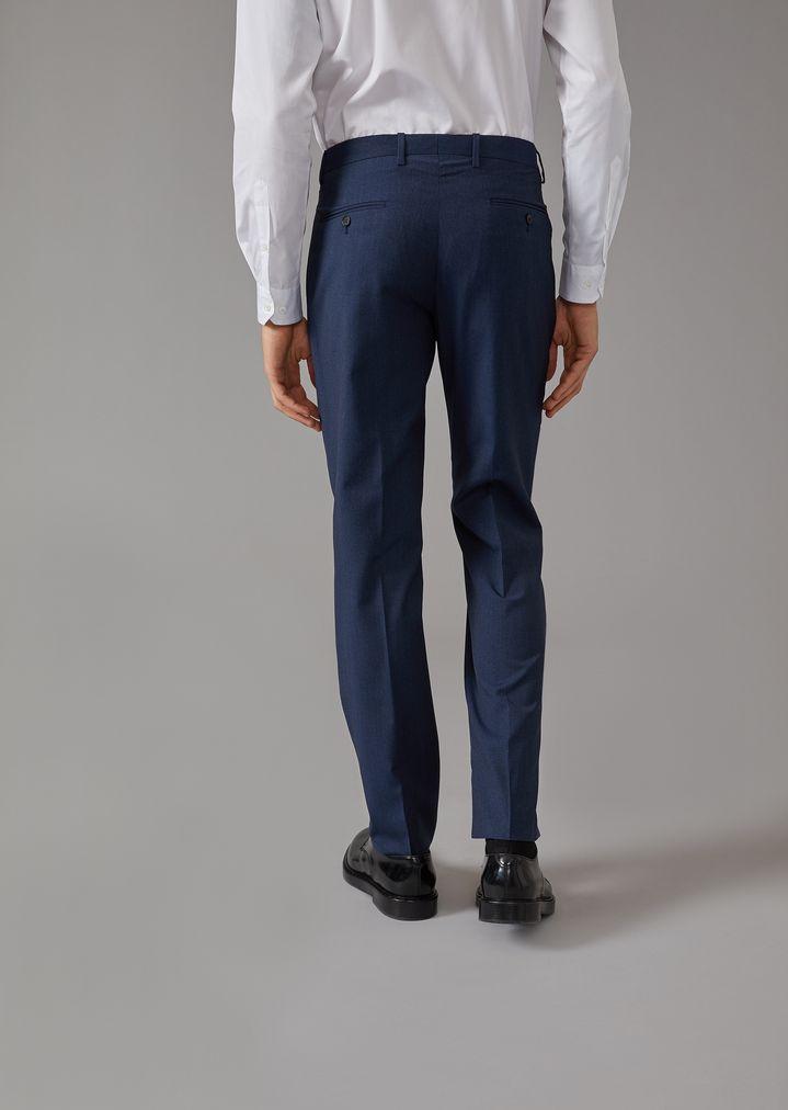 GIORGIO ARMANI Mouline twill Soho suit Suit Man c