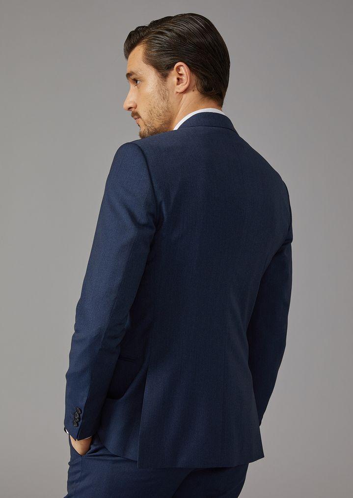 GIORGIO ARMANI Mouline twill Soho suit Suit Man e