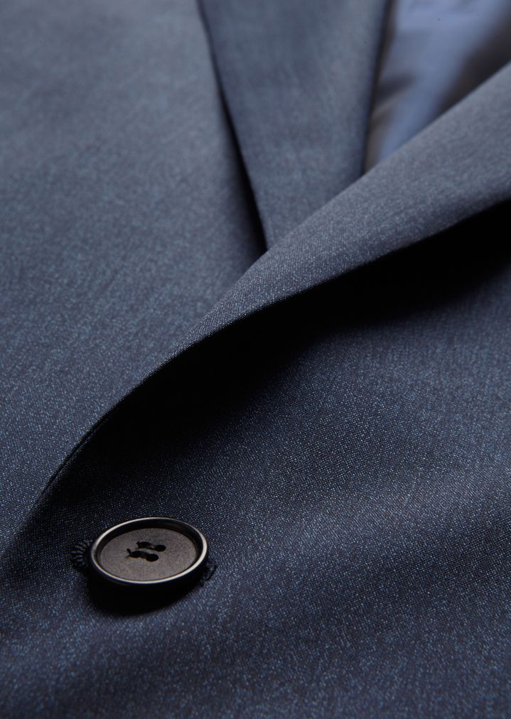 GIORGIO ARMANI Mouline twill Soho suit Suit Man h