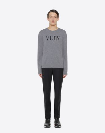 VALENTINO UOMO Knit top U VLTN inlay sweater r