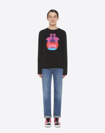 VALENTINO UOMO Knit top U Love intarsia jumper r