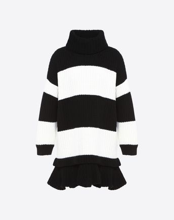 VALENTINO Knit top D Big Stripe sweater f