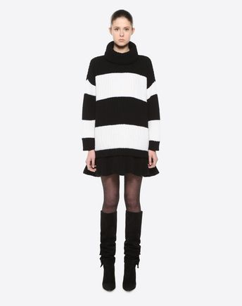 VALENTINO Knit top D Big Stripe Jumper r