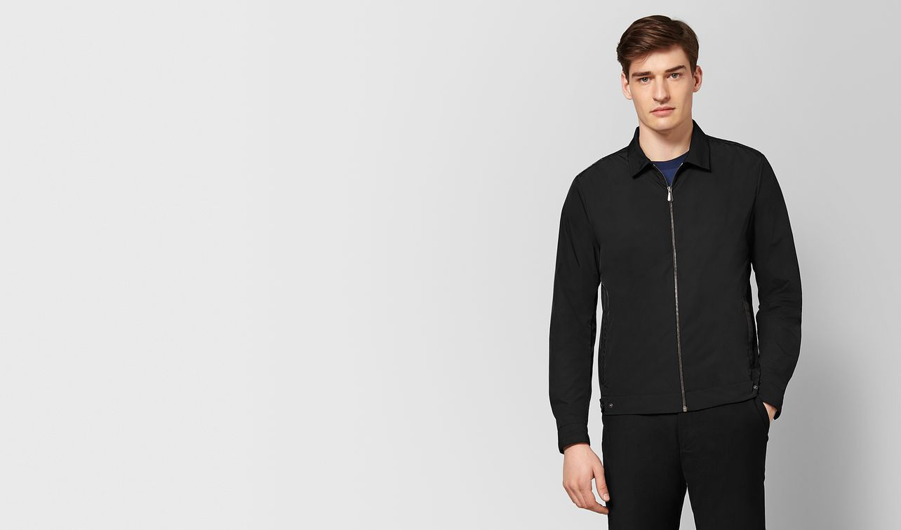 nero polyester jacket landing
