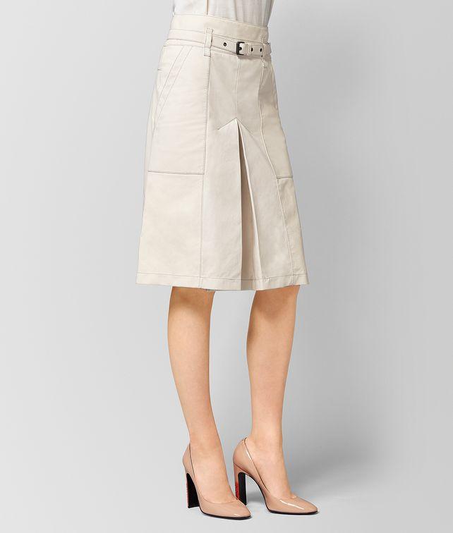 BOTTEGA VENETA MIST LAMB SKIRT  Skirt or trouser Woman fp