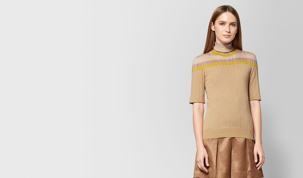 chamomile silk sweater landing