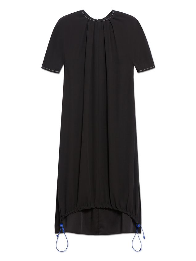 Marni Crepe-back satin dress with darts  Woman - 2