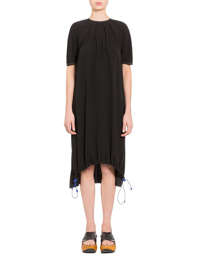 Marni Crepe-back satin dress with darts  Woman - 1