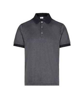 Antrachite Jacquard Polo Shirt