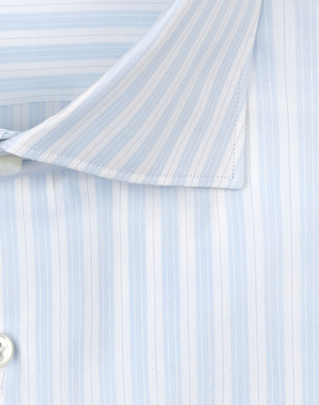 BRIONI Sky Blue and White Striped Shirt Formal shirt Man e