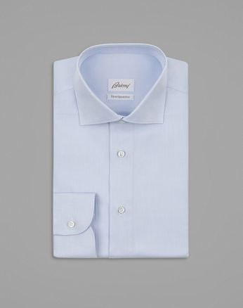 Baby Blue Twill Formal Shirt