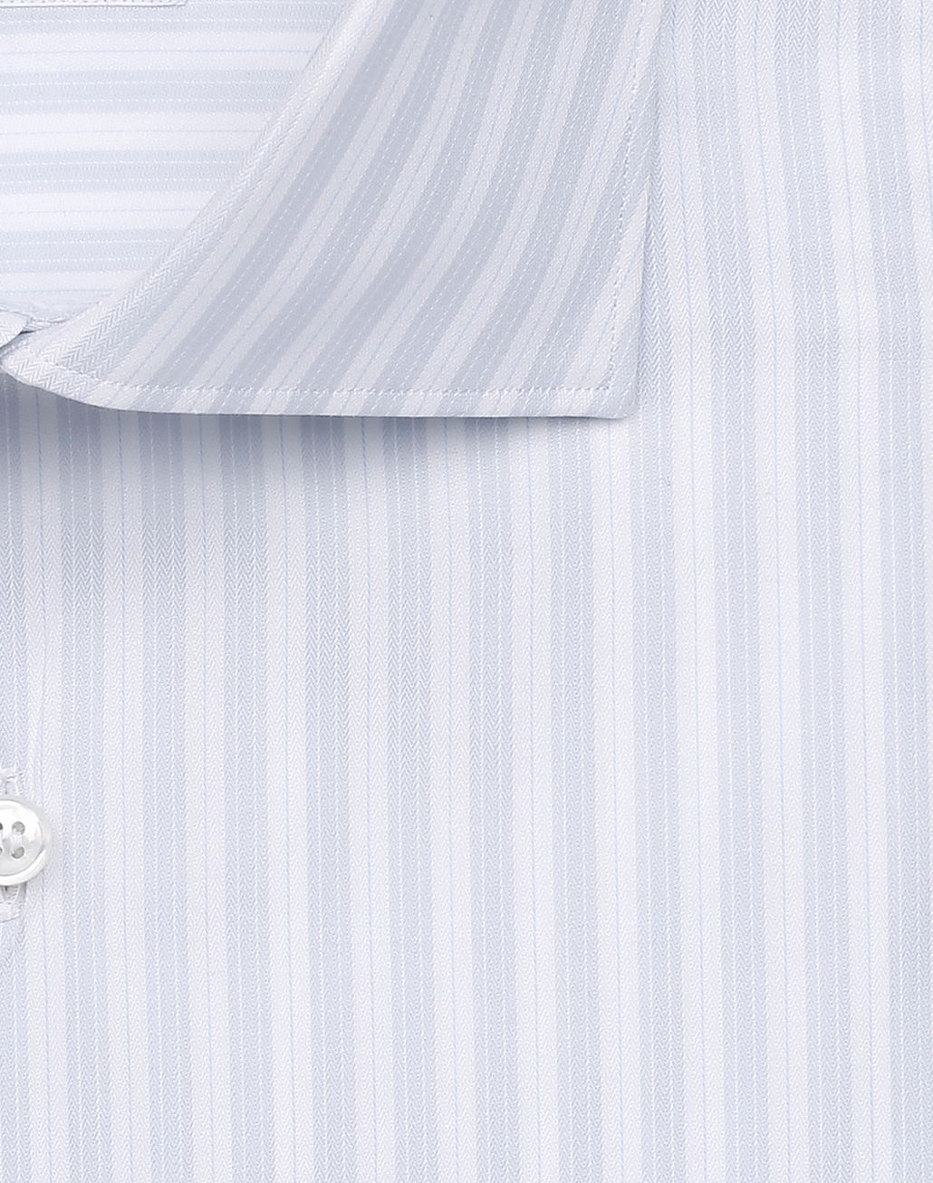 BRIONI Lead and White Striped Shirt Elegantes Hemd Herren e
