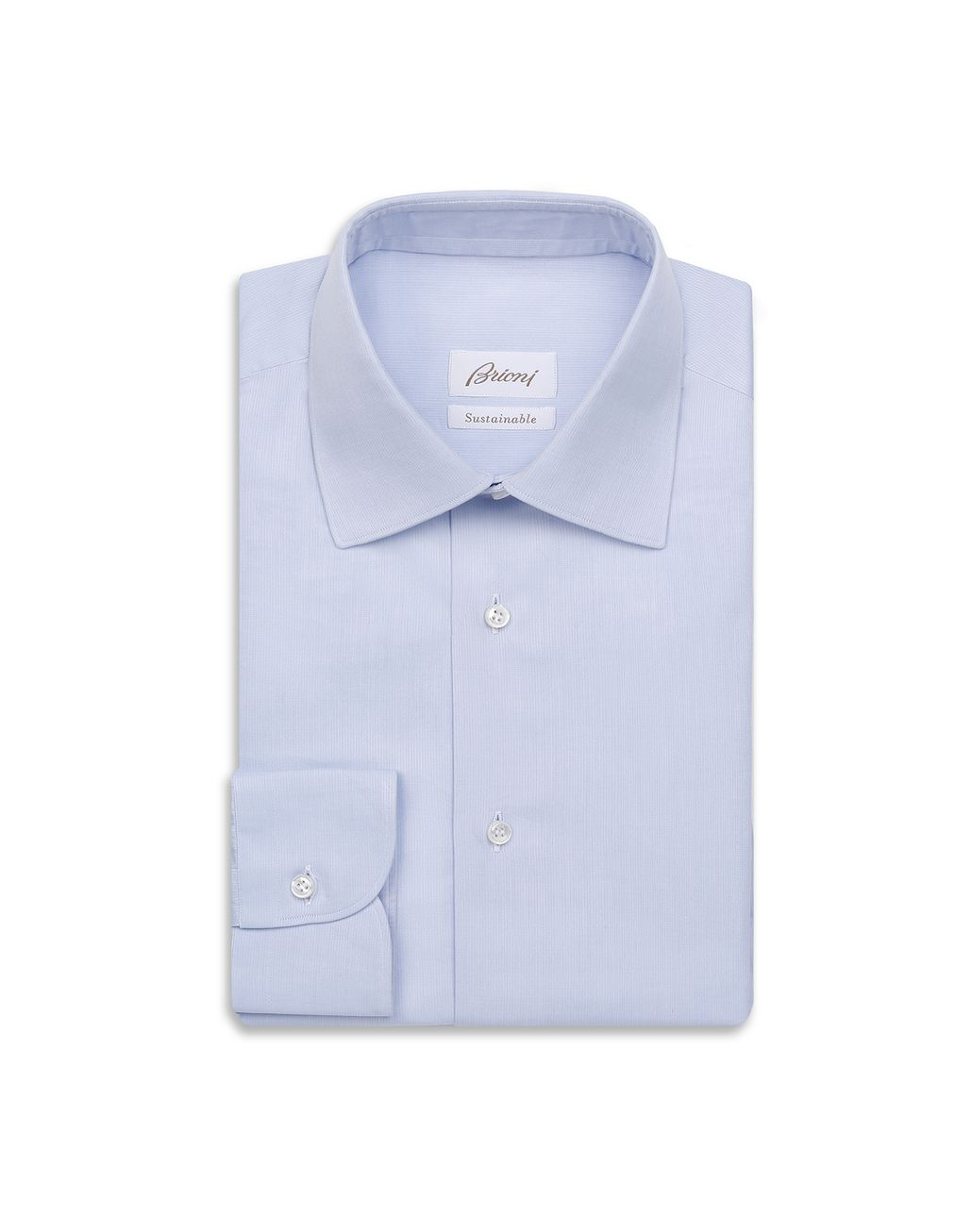 BRIONI Sky Blue Formal Shirt Formal shirt [*** pickupInStoreShippingNotGuaranteed_info ***] f