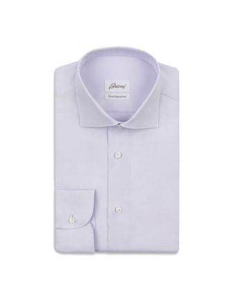 Lilac Micro Design Formal Shirt