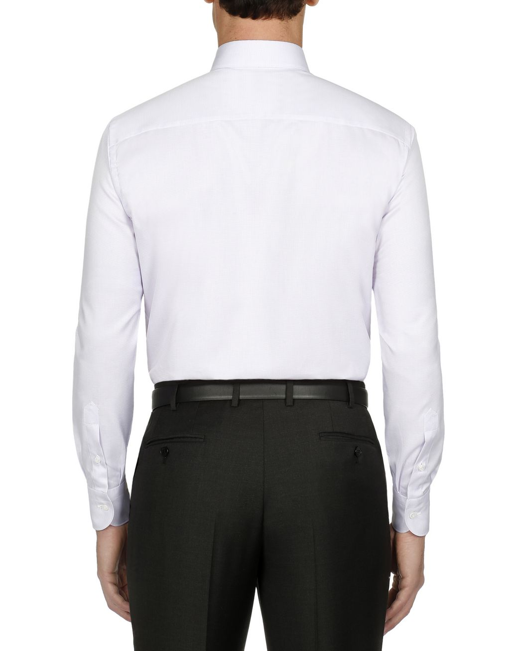 BRIONI Lilac Micro Design Formal Shirt Formal shirt [*** pickupInStoreShippingNotGuaranteed_info ***] d