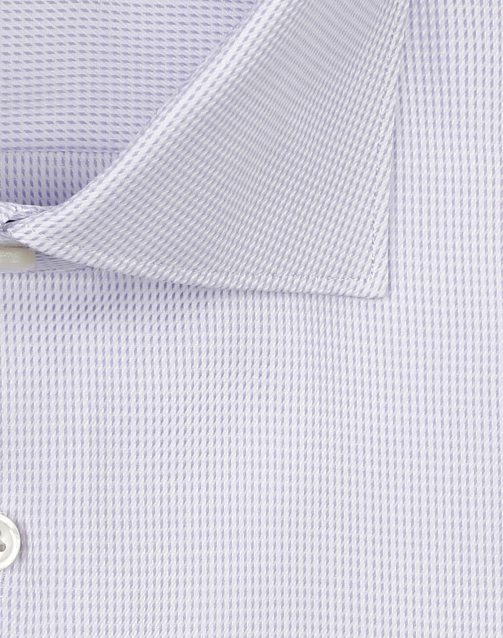 BRIONI White and Lilac Micro Plaid Shirt Formal shirt Man e